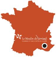Locate Le Moulin de Varrians B&B & table d'hotes